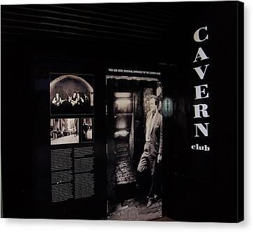 Cavern Club Original Doorway Liverpool Uk Canvas Print
