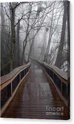 Cayce River Walk Canvas Print