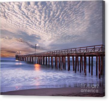 Cayucos Pier Canvas Print by Alice Cahill