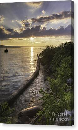 Cayuga Sunset II Canvas Print