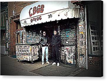 Cbgb New York 1992 Canvas Print