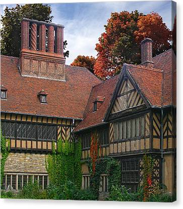 Canvas Print featuring the photograph Cecilienhof Palace by Doug Kreuger