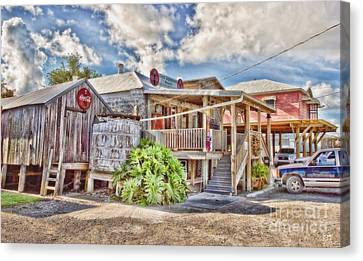 Grocery Store Canvas Print - Cecil's Grocery by Scott Pellegrin