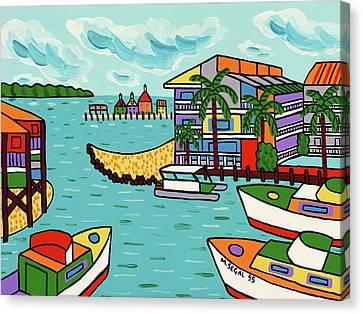Cedar Cove Marina - Cedar Key Canvas Print