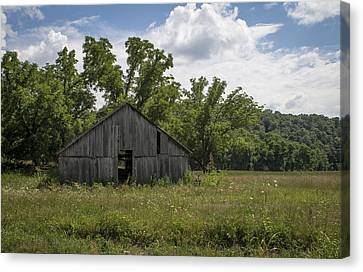 Cedar Creek Barn II Canvas Print by Wayne Meyer
