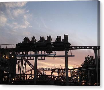 Maverick Canvas Print - Cedar Point - Maverick - 12125 by DC Photographer