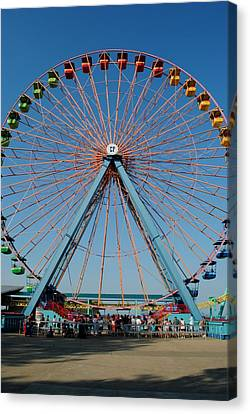 Cedar Point Sunday Canvas Print by Frozen in Time Fine Art Photography