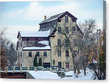Cedarburg Mill Canvas Print by Susan  McMenamin