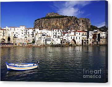 Cefalu - Sicily Canvas Print by Stefano Senise
