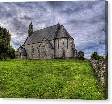 Cefn Meiriadog Parish Church Canvas Print by Ian Mitchell