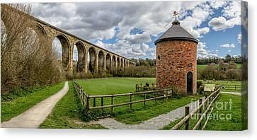 Cefn Viaduct Canvas Print by Adrian Evans