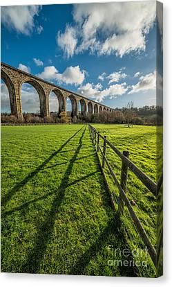Cefn Viaduct Chirk Canvas Print