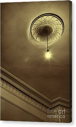 Canvas Print featuring the photograph Ceiling Light by Craig B