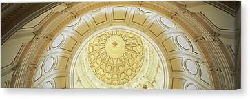 Ceiling Of The Dome Of The Texas State Canvas Print