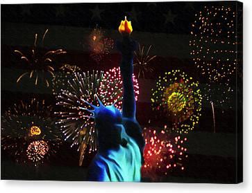 Celebrate America Canvas Print by Bill Cannon