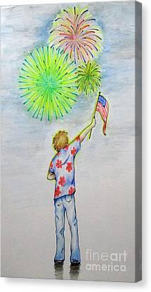 Celebrate America Canvas Print