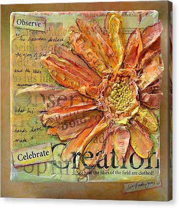 Celebrate Creation Canvas Print