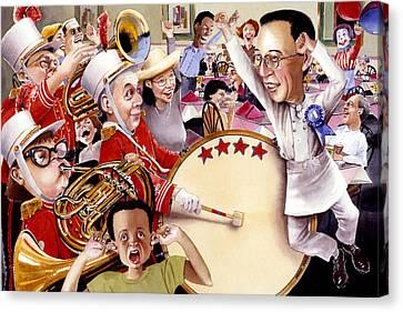 Celebrate Canvas Print by Denny Bond