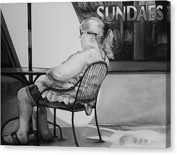 Celebrate Canvas Print by Jean Cormier