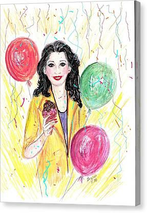 Celebrate Life Canvas Print