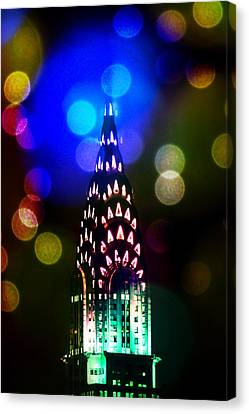 Celebrate The Night Canvas Print