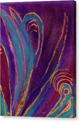 Celebration Iv Canvas Print by Anne-Elizabeth Whiteway