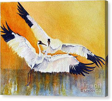 Celebration Canvas Print by Sandy Linden