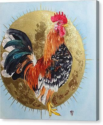 Celestial Chicken Brutus Canvas Print