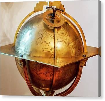 Celestial Globe Canvas Print