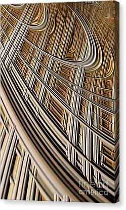 Harp Canvas Print - Celestial Harp by John Edwards