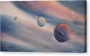 Celestial Light  Canvas Print