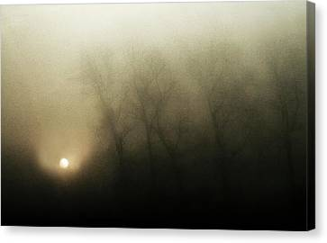 Haze Canvas Print - Celestial Melody To The Earth by Yvette Depaepe