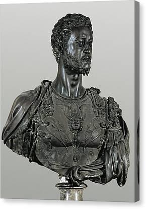 Cellini, Benvenuto 1500-1571. Bust Canvas Print