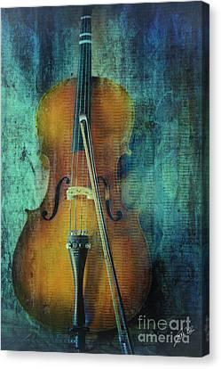 Cello  Canvas Print by Erika Weber