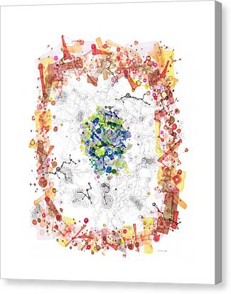 Cellular Generation Canvas Print