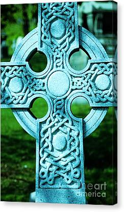 Celtic Cross Canvas Print by Kathleen Struckle