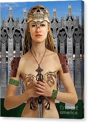 Celtic Queen Boudicca Canvas Print