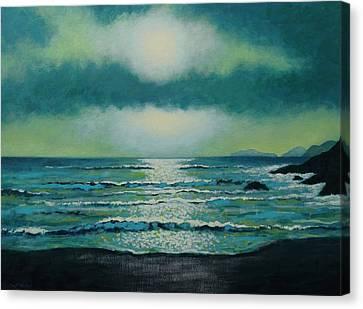 Celtic Twilight Canvas Print by John  Nolan
