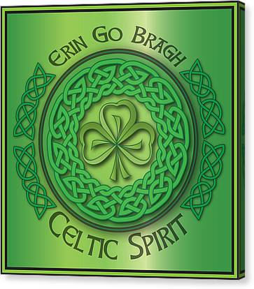 Celtic Spirit Canvas Print by Ireland Calling