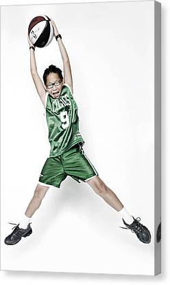Celtics Fan Canvas Print by Tolga Kavut
