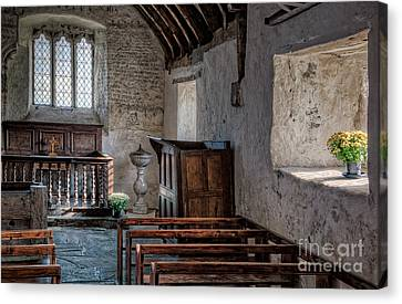 Celynnin Church V2 Canvas Print