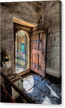 Celynnin Entrance Canvas Print by Adrian Evans