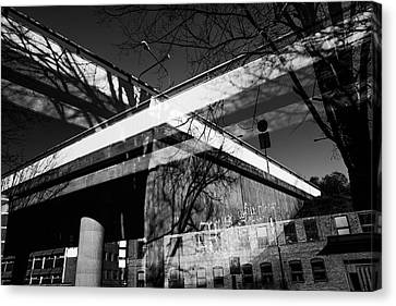 Journey Canvas Print - Cement Foundations by Tommytechno Sweden