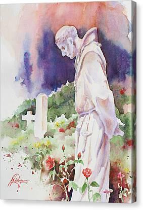 Cemetery Gardens Canvas Print by John Dougan