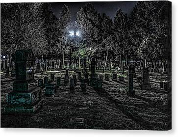 Cemetery  Canvas Print by Ray Congrove