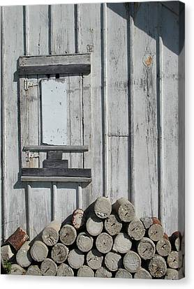 Cemetery Shed Canvas Print by Joseph Yarbrough