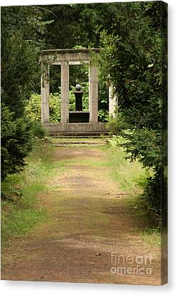 Cemetery Stahnsdorf Berlin Canvas Print by Art Photography