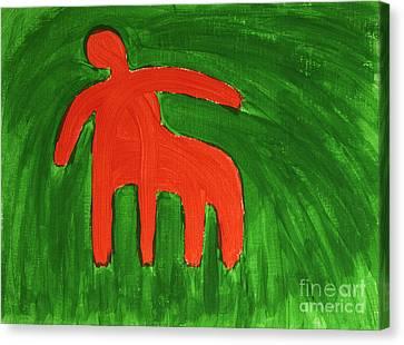Centaur Canvas Print by Igor Kislev
