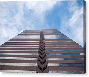 Center At 600 Vine Canvas Print by Rob Amend