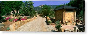 Center For Earth Concerns, Ojai Canvas Print by Panoramic Images